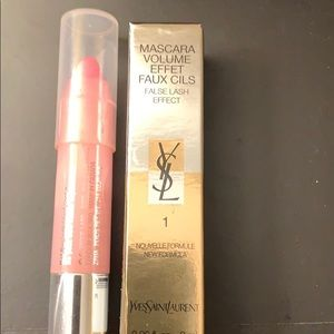 YSL Mascara and Clinique Chubby Stick